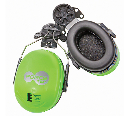 Force 360 hard hat earmuff