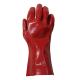 bastion red pvc glove 270mm