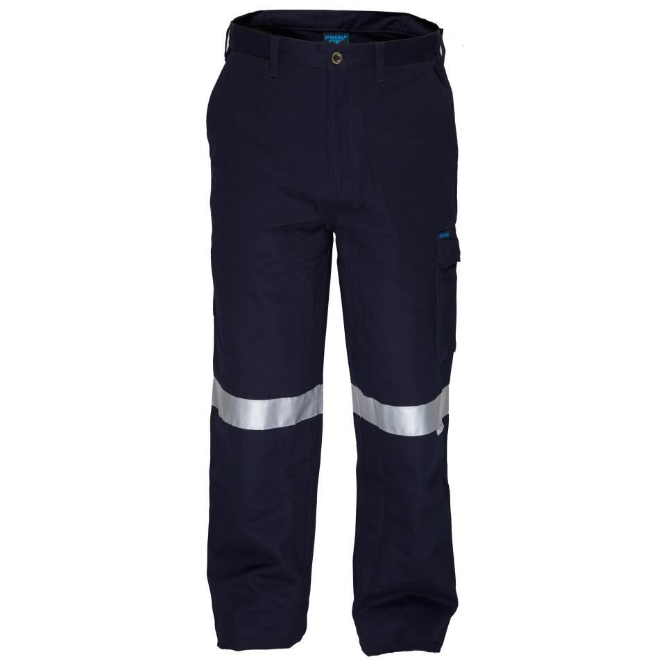 4a1770d568e0 Prime Mover CH701K Flame Retardant Cotton Drill Cargo Pants with 3M ...