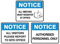 Notice-Signs
