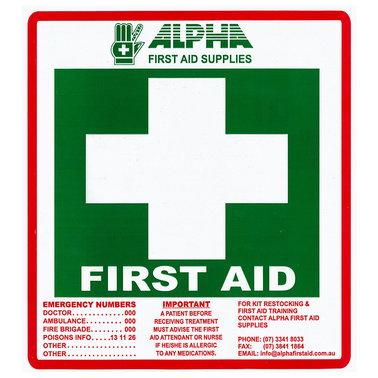 Alpha First Aid