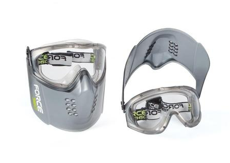 Force360_EFPR860_Guardian_Plus safety goggle and visor clear
